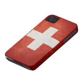 Switzerland Flag iPhone 4 Case-Mate Cases