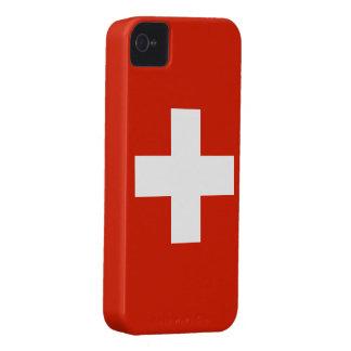 Switzerland Flag iPhone 4 Cases