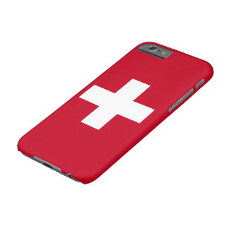 Switzerland Flag Barely There iPhone 6 Case