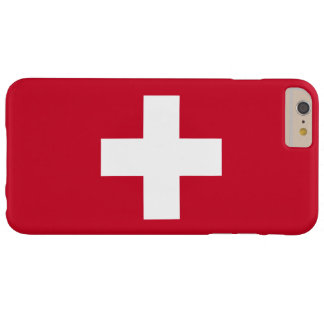 Switzerland Flag Barely There iPhone 6 Plus Case