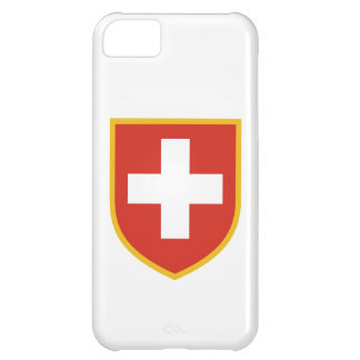 Switzerland Flag Cover For iPhone 5C