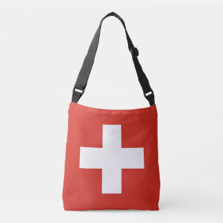 Switzerland Flag Crossbody Bag