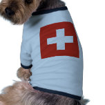 Switzerland Flag Doggie Shirt