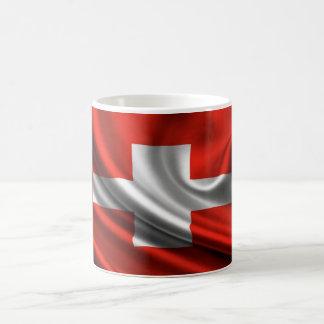 Switzerland Flag Fabric Coffee Mug