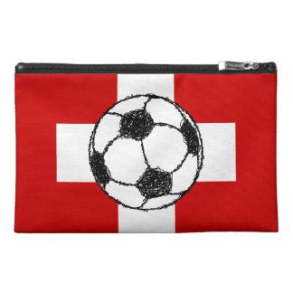 Switzerland Flag   Football Ball Travel Accessories Bag