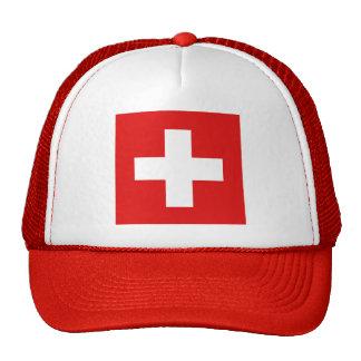 Switzerland Flag Hat
