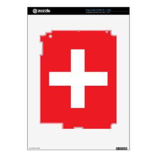 Switzerland Flag iPad 2 Skin