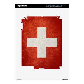 Switzerland Flag iPad 3 Skin