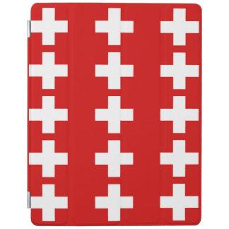 Switzerland Flag iPad Cover