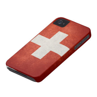 Switzerland Flag iPhone 4 Case