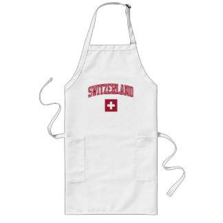 Switzerland + Flag Long Apron