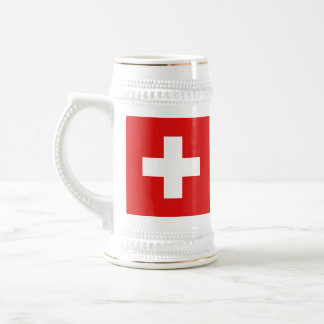 Switzerland Flag ~ Map Mug