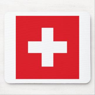 Switzerland Flag Mousepad