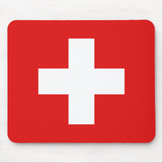 Switzerland Flag Mousepad