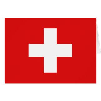 Switzerland Flag Notecard