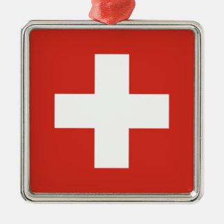 Switzerland Flag Ornaments