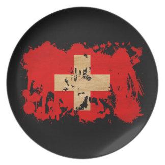 Switzerland Flag Party Plates