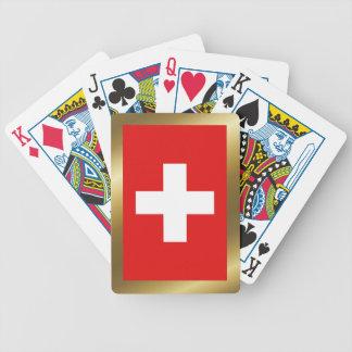 Switzerland Flag Playing Cards