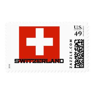 Switzerland Flag Postage Stamp