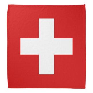 Switzerland flag quality bandana