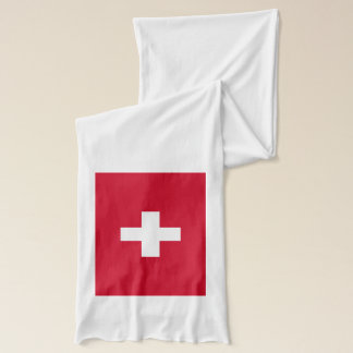 Switzerland Flag Scarf