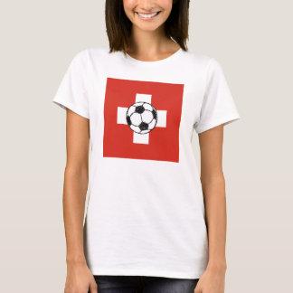 Switzerland Flag | Soccer Ball T-Shirt
