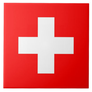 Switzerland Flag Tile