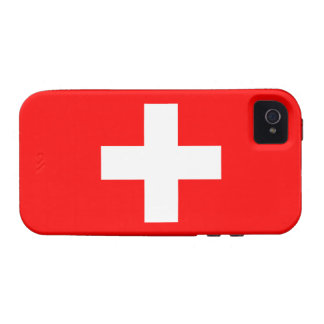 Switzerland Flag Tough™ iPhone 4 Case