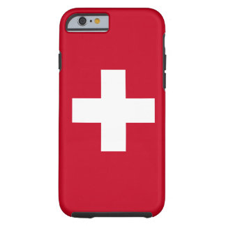 Switzerland Flag Tough iPhone 6 Case