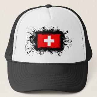 Switzerland Flag Trucker Hat