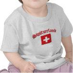Switzerland Flag (w/inscription) Shirts