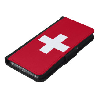 Switzerland Flag Wallet Phone Case For Samsung Galaxy S6
