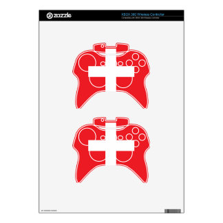 Switzerland Flag Xbox 360 Controller Skins