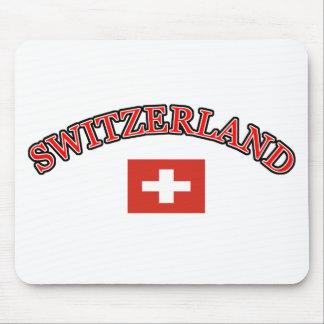Switzerland football design mouse pad