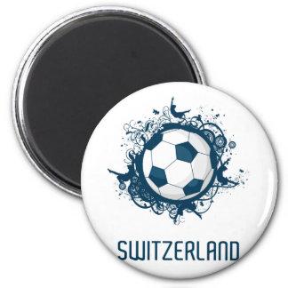 Switzerland Football Magnet