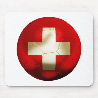Switzerland Football Mouse Pad