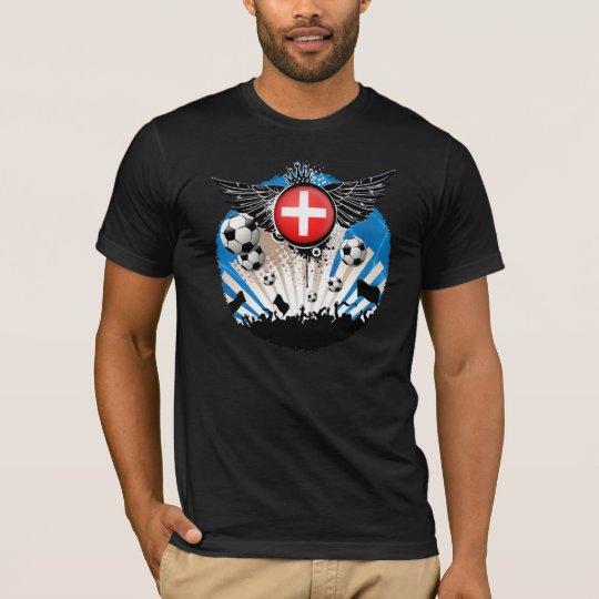 switzerland football supporters  tshirt