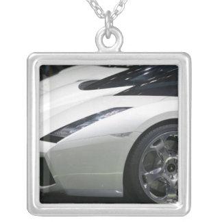 SWITZERLAND, GENEVA: 75th Annual Geneva Auto 11 Silver Plated Necklace