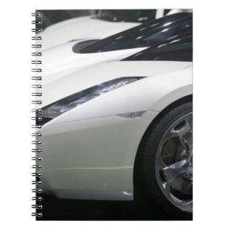 SWITZERLAND, GENEVA: 75th Annual Geneva Auto 11 Spiral Notebook