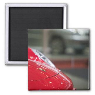 SWITZERLAND, GENEVA: 75th Annual Geneva Auto 2 2 Inch Square Magnet