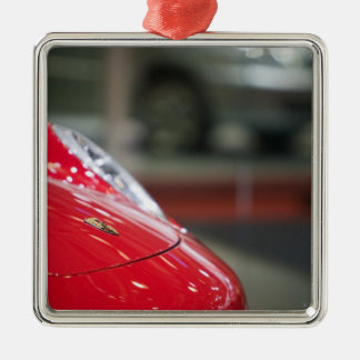 SWITZERLAND, GENEVA: 75th Annual Geneva Auto 2 Metal Ornament