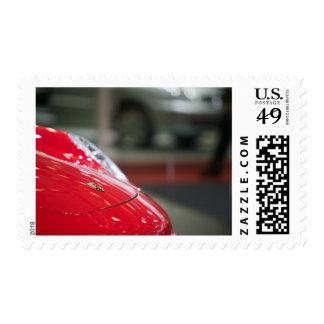 SWITZERLAND, GENEVA: 75th Annual Geneva Auto 2 Stamp