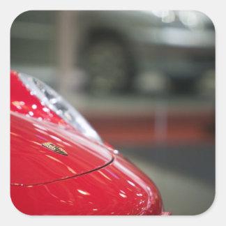 SWITZERLAND, GENEVA: 75th Annual Geneva Auto 2 Square Sticker