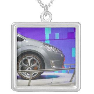 SWITZERLAND, GENEVA: 75th Annual Geneva Auto 5 Silver Plated Necklace
