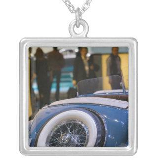 SWITZERLAND, GENEVA: 75th Annual Geneva Auto 7 Silver Plated Necklace
