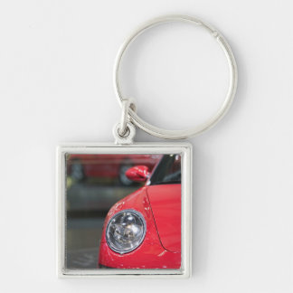 SWITZERLAND, GENEVA: 75th Annual Geneva Auto 8 Keychain