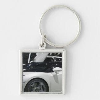 SWITZERLAND, GENEVA: 75th Annual Geneva Auto 9 Keychain