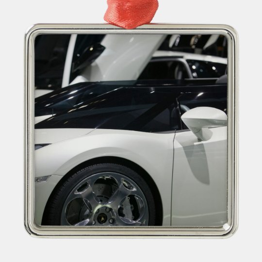 SWITZERLAND, GENEVA: 75th Annual Geneva Auto 9 Metal Ornament