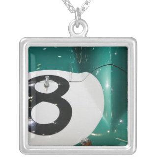 SWITZERLAND, GENEVA: 75th Annual Geneva Auto Silver Plated Necklace