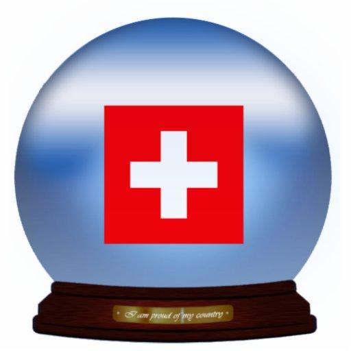 Switzerland_Globe Statuette